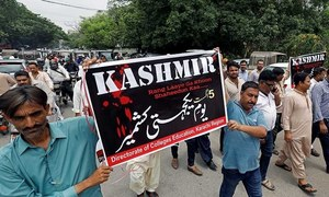 Joint political show of solidarity with Kashmiris unlikely