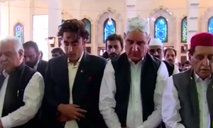 Qureshi, Bilawal spend Eidul Azha in AJK to show solidarity with Kashmiri people