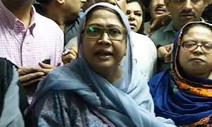 Faryal Talpur shifted to Adiala jail despite doctors' advice