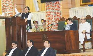 India plans to strike AJK, says Imran