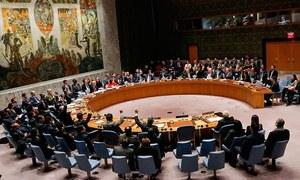 مسئلہ کشمیر پر سلامتی کونسل کا تاریخی اجلاس