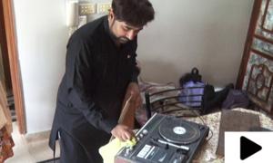 پاکستانی نوجوان کا ملک سے محبت کا منفرد انداز
