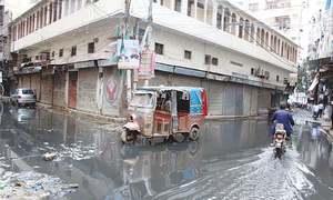 Vile stench, insanitary conditions pervade Karachi