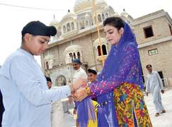 Hindu, Sikh communities celebrate Rakhi festival