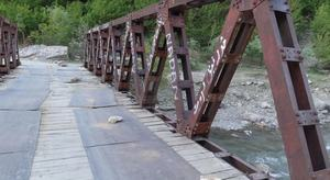Garam Chashma residents seek rehabilitation of suspension bridge