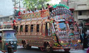 Karachi crackdown on transporters for overcharging yields over Rs200,000