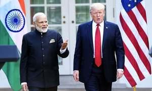 پاک-بھارت کشیدگی کم کی جائے، ٹرمپ کی مودی سے گفتگو