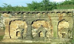 Rain takes its toll on Buddhist heritage site in Taxila
