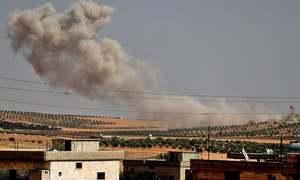 Anti-Assad fighters withdraw from key Idlib area
