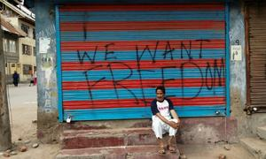 'We won't give an inch': India faces defiance in 'Kashmir's Gaza'