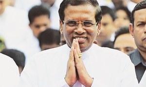 پاکستان اور بھارت کے درمیان ثالثی کا کوئی بیان نہیں دیا،سری لنکن صدر