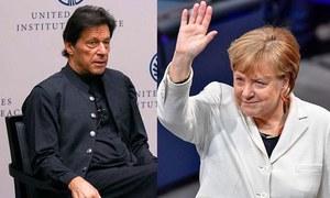 کشمیر میں بھارتی جبر کو ہر صورت روکنا ہوگا، وزیراعظم کا جرمن چانسلر کو فون
