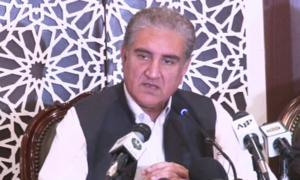 اقوام متحدہ کے سیکریٹری جنرل کو مقبوضہ کشمیر کی صورتحال سے آگاہ کردیا، وزیرخارجہ