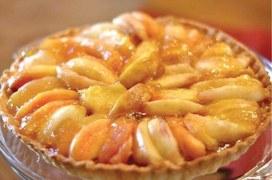 Get extra peachy this season with our frangipane tart recipe