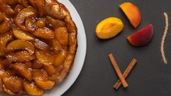 Get extra peachy this season with our frangipane tart recipe