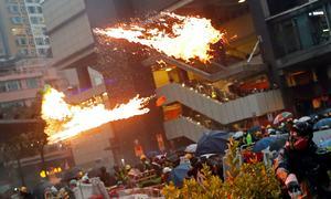 ہانگ کانگ میں جمہوری اصلاحات کیلئے ہنگامہ آرائی