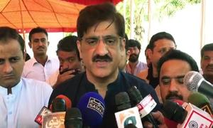 Sindh CM regrets parties politicising Karachi garbage collection issue