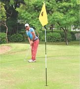 Salman sinks hole-in-one; Ahmed in three-way tie at top