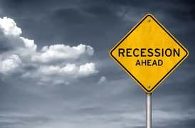 Thunder, lightning and recession