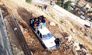 26 feared dead after pickup truck plunges in river in Kohistan