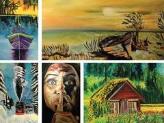 Emerging artist's work showcased in exhibition