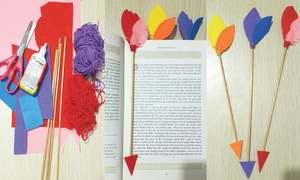 Wonder Craft: Arrow bookmarks