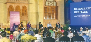 Eminent experts discuss heritage in urban context