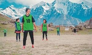 Mountain girls pursue love for football