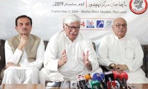 Asfandyar fears more chaos after Afghan Taliban-US deal sans Kabul