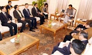 چینی وزیرخارجہ کی سول و عسکری قیادت سے ملاقات،کشمیر کی صورتحال پر تبادلہ خیال
