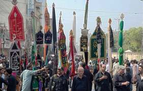 9th Muharram processions conclude peacefully
