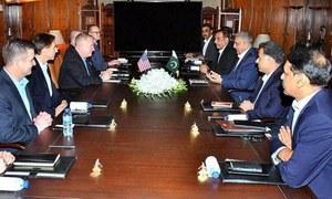 آرمی چیف سے سینٹ کام کے کمانڈر کی ملاقات، افغانستان اور مسئلہ کشمیر پر تبادلہ خیال