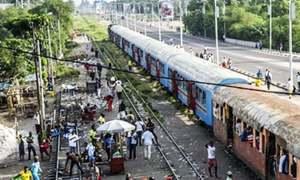 جمہوریہ کانگو: ٹرین حادثے میں 50 افراد ہلاک