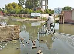 Lack of maintenance damaging sewerage