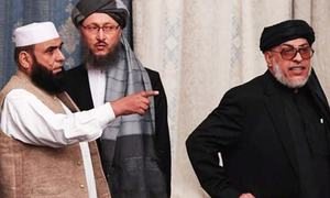 Moscow holds Taliban talks