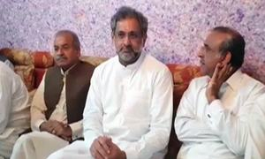 Shahid Khaqan Abbasi 'conditionally' released on parole