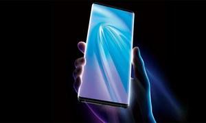 لگ بھگ سو فیصد فرنٹ اسکرین والا 'مستقبل' کا اسمارٹ فون