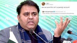 Pakistani Twitter tells Fawad Chaudhry his Modi tweet was in poor taste