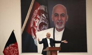 Bombing kills 24 at Afghan president's rally