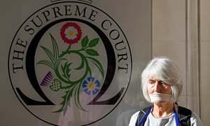 Top UK court hearing challenge to Johnson's Parliament break