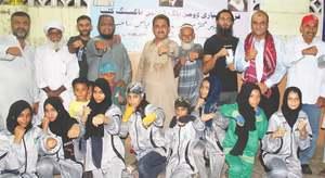 Karachi South Red wins DMC Women Boxing event