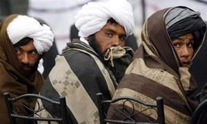Taliban team in Tehran