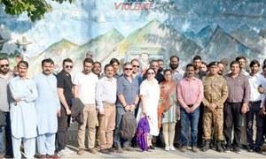 Turkish journalists meet victims of Indian firing along LoC
