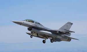 بیلجیئم کا ایف-16 طیارہ فرانس میں گر کر تباہ