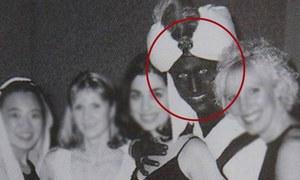 'سیاہ چہرے' میں تصویر سامنے آنے پر جسٹن ٹروڈو کی معذرت