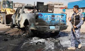 کربلا: بس میں بم دھماکے سے کم از کم 12 افراد ہلاک