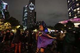 Over 15 cities fire up the Bat-Signal to celebrate Batman's 80th anniversary