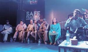 Literature festival concludes with a vow to look beyond poverty and violence in Lyari