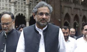 ایل این جی کیس: شاہد خاقان عباسی، مفتاح اسمٰعیل عدالتی ریمانڈ پر جیل منتقل