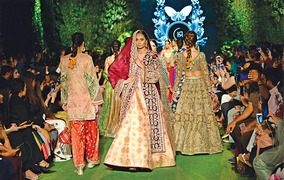 PFDC Bridal Week opens with group shows, featuring established and new designers